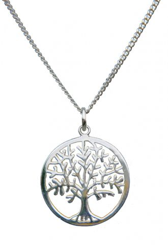 Solid Silver TREE OF LIFE YGGDRASIL